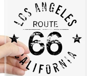 california, typography, and los angeles image