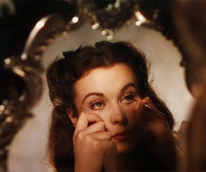 beauty, gif, and Gone with the Wind image