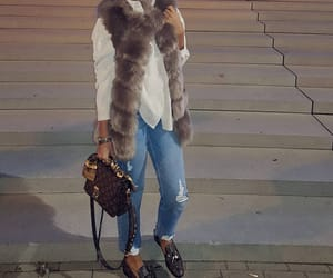 faux, fur, and girly image