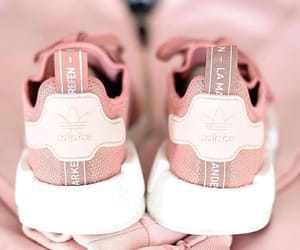 sneakers, adidas, and pink image