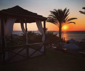 beach, cyprus, and holidays image
