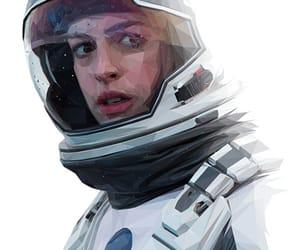 Anne Hathaway, art, and digital art image