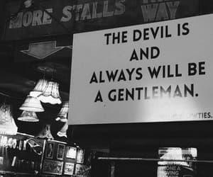 always, black, and Devil image