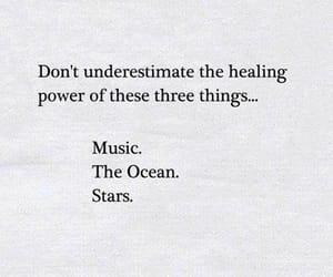 music, heal, and ocean image
