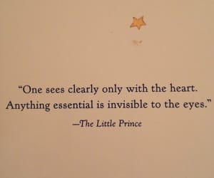 heart, quotes, and the little prince image