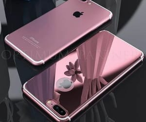iphone, pink, and tech image