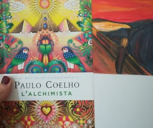 book, coelho, and colorful image