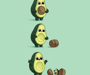avocado and baby image