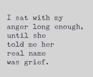 anger and grief image