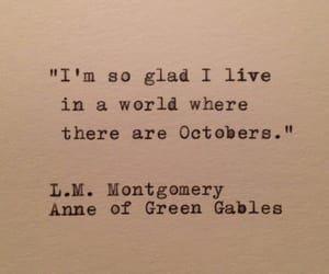 quotes, october, and autumn image