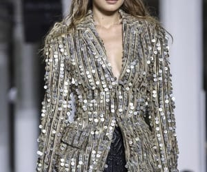 fashion show, Roberto Cavalli, and runway image