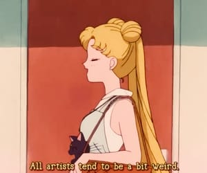 90s, anime, and art image