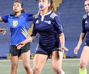 girls, sport, and rugby image