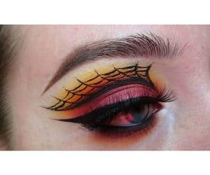 blending, eyebrows, and eyeliner image
