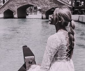 boat, fade, and girl image