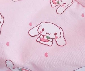 baby, cinnamoroll, and hearts image
