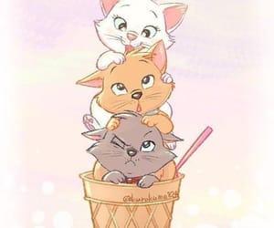 cat, disney, and wallpaper image