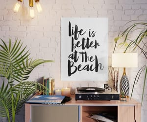 beach, insp, and poster image