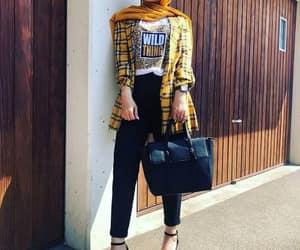 bag, hijabista, and boots image