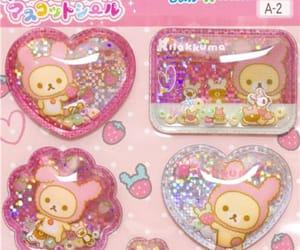 pink, rilakkuma, and baby image