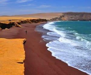 beach and peru image