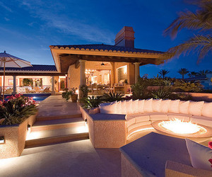 luxury, house, and pink image