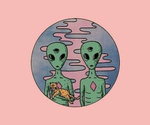 alien, tumblr, and overlay image