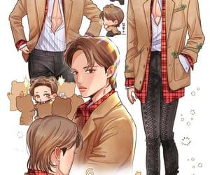 exo, exo kai, and gucci boy image