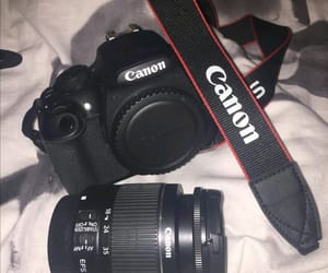 camera, canon, and my love image