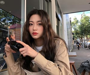 girl, korean, and style image