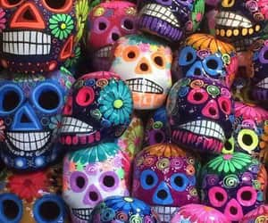 background and calavera image