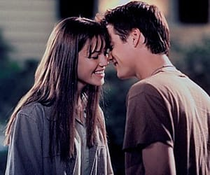 A Walk to Remember (2002). Jamie Sullivan is played by Mandy Moore and Landon Carter is played by Shane West. This film is based on the novel A Walk to Remember (1999) by Nicholas Sparks.