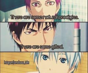 anime, quotes, and kuroko no basket image