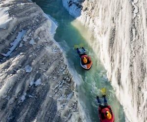 travel, adventure, and hydrospeeding image