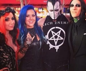 the misfits, chris motionless, and miw image