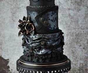 cake, gorgeous, and goth image