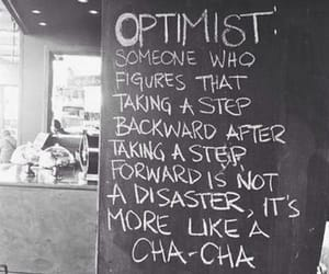 optimist, quotes, and life image