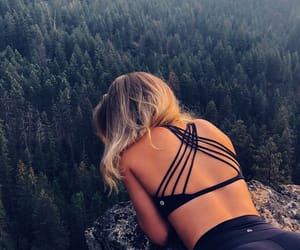 adventure, blonde, and carefree image