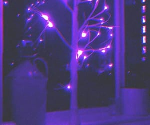 aesthetic, light, and purple image
