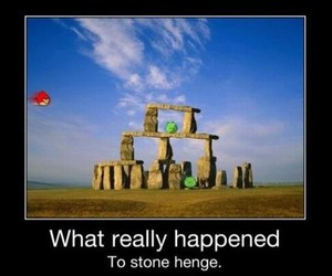 stonehenge, angry birds, and funny image