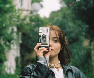 35mm, eyes, and forest image