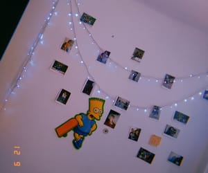 bart simpson, my house, and my room image