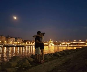 couple, love, and budapest image