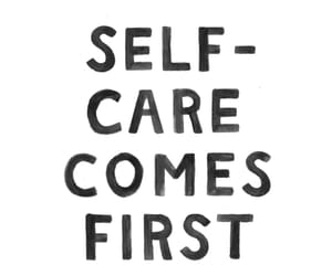 quote and selfcare image