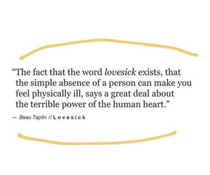 lovesick, quotes, and love image