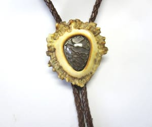 etsy, antler jewelry, and bolo tie image