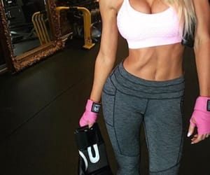abs, blonde, and body image
