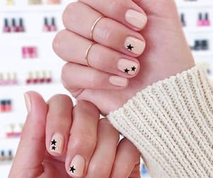 nails, girl, and woman image
