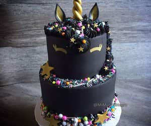 adorable, birthday, and black image