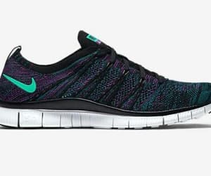 5, flyknit, and black image